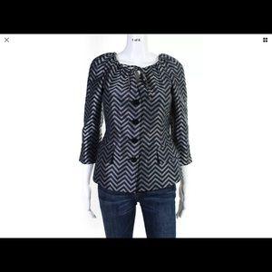Silk Armani Collezioni jacket size 4 looks new!